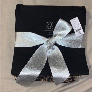 New York & Company Intimates & Sleepwear - NWT NY & Company Black Pajama Set